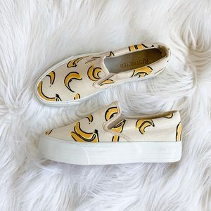 ✨🍌 NWT Restricted Fruit Sneakers